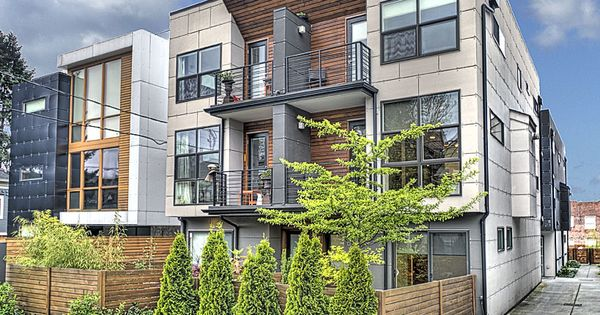 Modern Townhomes Google Search Oakland Commercial
