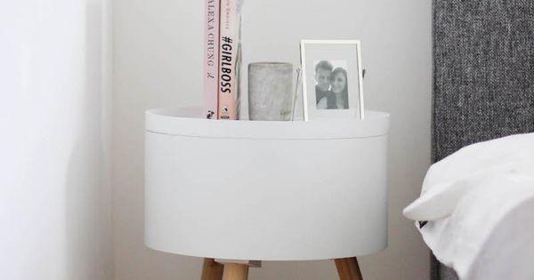 schlafzimmer gestalten in grau wei und rosa nachttische schlafzimmer und designs. Black Bedroom Furniture Sets. Home Design Ideas