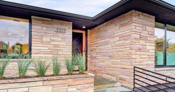 Mid Century Modern Planter Ideas: Mid Century Modern Exterior In Seattle