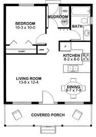 19 X 28 Ft 1 Bedroom Cabin Plans Google Search Tiny House Floor Plans Cottage House Plans Family House Plans