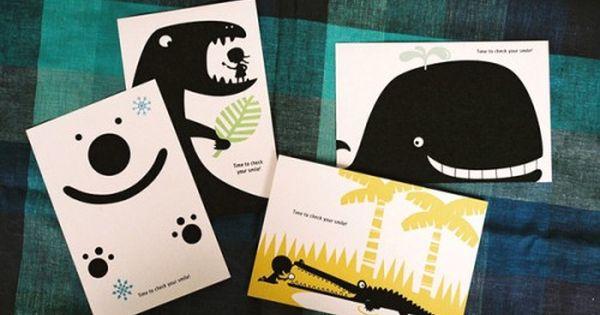 9 Creative And Unusual Dentist Business Card Designs Dental Business Cards Business Cards Creative Postcard Design