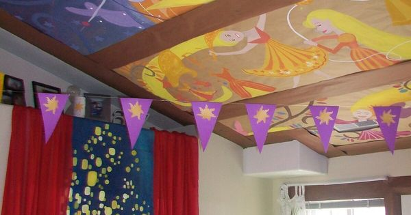 Gorgeous Tangled Themed Guest Rooms At Tokyo Disneyland: Toddler Room Ideas