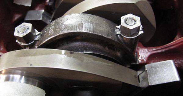 Bentley R Type Checking Lock Tab Washers Bentley Engine Rebuild Rolls Royce