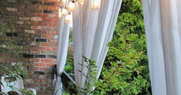 Am nagement balcon vis vis protection d co balcony - Balcon vis a vis ...