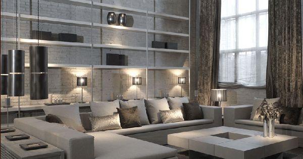 Interior design joan lao urban loft ruarte contract - Disenadores de interiores barcelona ...