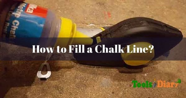 How To Fill A Chalk Line In 2020 Line Tools Chalk Filling