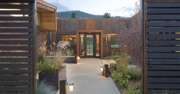 Modern Exterior Courtyard Design, Pictures, Remodel, Decor and Ideas