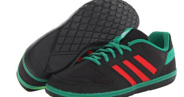 diseño de calidad diseño atemporal lindos zapatos adidas Freefootball Janeirinha Sala Black/Vivid Red/Vivid Green ...