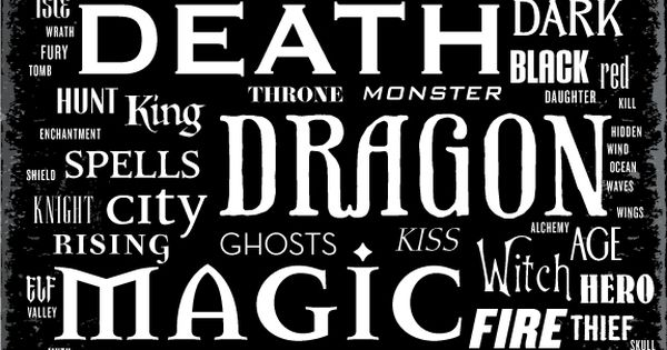 Book Cover Fonts Fantasy : Fantasy book covers title trends fonts in