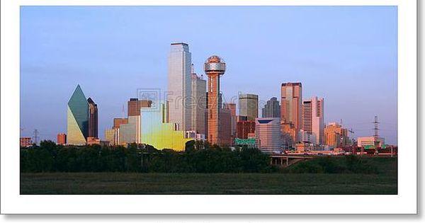 Free Art Print Of Downtown Dallas Texas Dallas Skyline Dallas