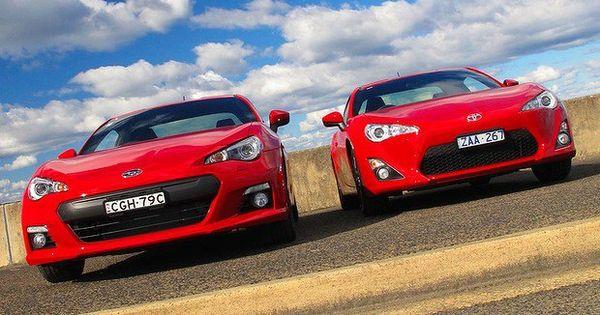 A Red Subaru Brz Vs A Red Toyota 86 Which Do You Like Better Subaru Brz Subaru Toyota 86