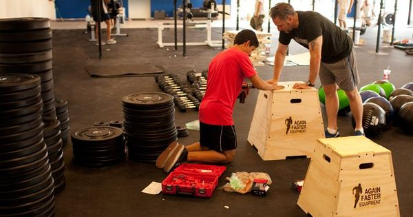 Make your own crossfit gym in garage love again