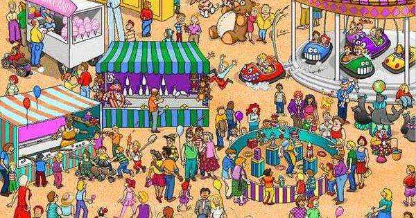 So where is Waldo really?