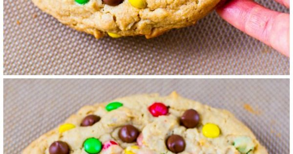 One giant peanut butter M&M cookie to cure even the largest peanut