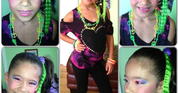 Pin By Melissa Scheff On Hair Kids Hairstyles 80s Hair Kids Makeup
