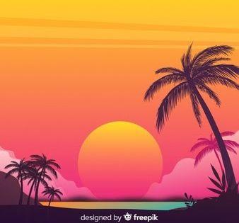 30 Lukisan Pemandangan Vektor Sunset Vectors Photos And Psd Files Free Download Download Lukisan Pemandangan Angin Cina Pemandangan Lukisan Latar Belakang