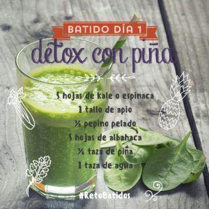 dieta depurativa 1 dia pinas