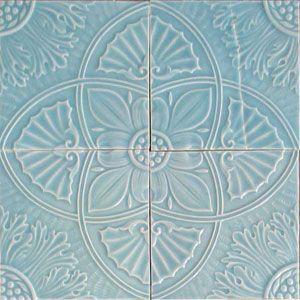 Victorian Tiles Tile Murals