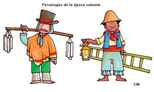 Resultado De Imagen Para Juegos Y Oficios De La Colonia En Chile