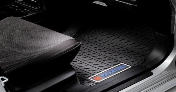Suzuki Sx4 Awd Crossover All Weather Floor Mats Suzuki Sx4 Awd