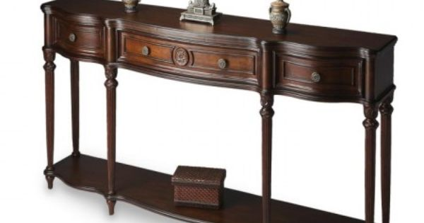 Love This Console Table Great For The Den Home