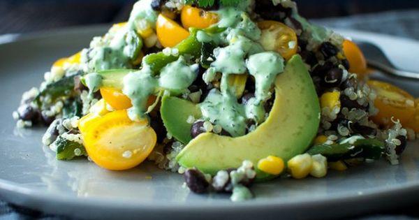 ... Salad/Salsa | Pinterest | Corn Salads, Lime Dressing and Black Beans