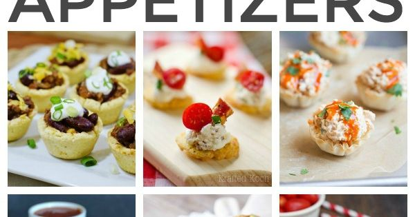 Over 50 bite sized game day appetizers great ideas for for Super bowl appetizers pinterest