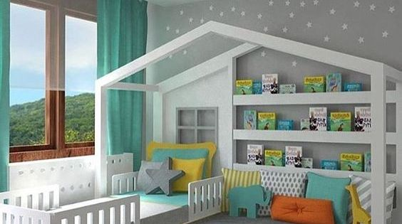 ideen f r m dchen kinderzimmer zur einrichtung und. Black Bedroom Furniture Sets. Home Design Ideas