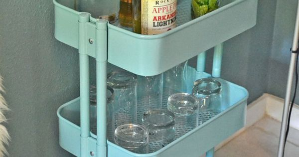 Ikea raskog cart could also be a baking station tea for Tea trolley ikea