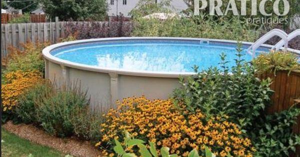Quoi planter autour de la piscine hors terre de la for Balayeuse de piscine hors terre