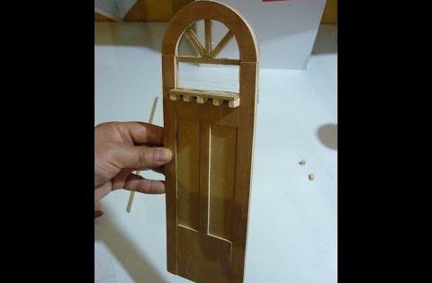 Como hacer una puerta para casas de mu ecas youtube - Hacer puerta corredera barata ...