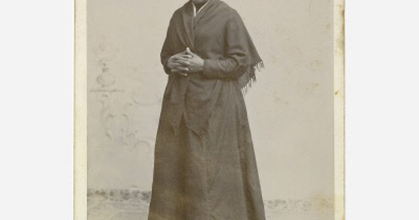 Harriet Tubman, photograph, 1885 - African-American abolitionist, humanitarian, and Union spy during