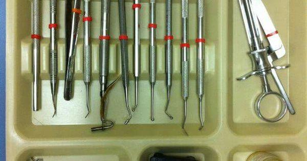 amalgam tray dental assistant pinterest trays