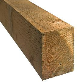 Shop Severe Weather Pressure Treated Hemlock Fir Lumber Common 4 In X 4 In X 6 Ft Actual Severe Weather Pressure Treated Timber Wood Protection