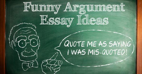 fun college essay topics