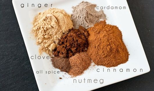 homemade chai spice mix + chai spice almond butter