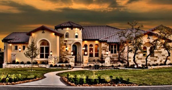 Spanish ranch style house 001 solace creek custom homes for Spanish style ranch house plans