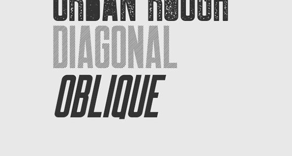 Robinson is a font inspired by vintage newspaper titles. It's great for having a bold and attractive title