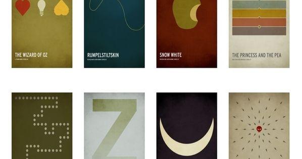 Minimalist Classroom Booking ~ Minimalist children s book posters