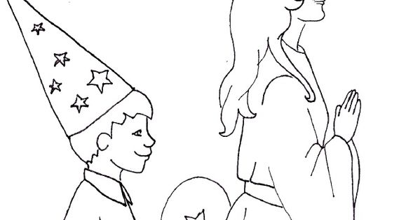 christmas in sweden coloring pages - photo#18