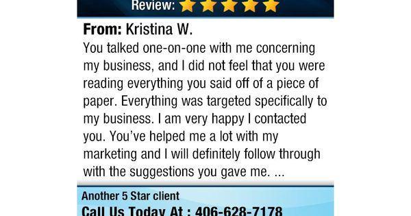 You Talked One On One With Me Concerning My Business And I Did Not Feel That You Were Google Reviews Yelp Reviews This Or That Questions