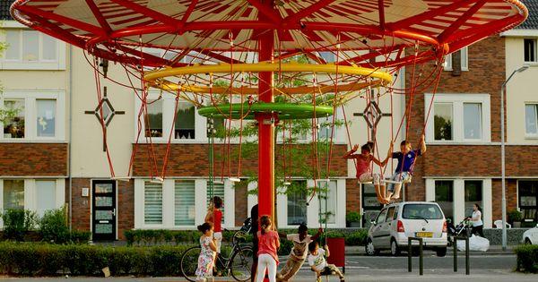 Energy carousel ecosistema urbano portfolio espacio for Mobiliario espacio publico