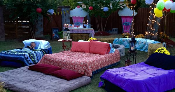 Air Mattresses For Movie Night Outside Outdoor Movie