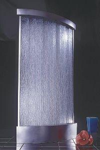 Slim Style Modern Water Wall Indoor Water Features Indoor Water