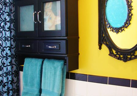 Yellow Bathrooms Ideas & Inspiration | RemodelingGuy.net