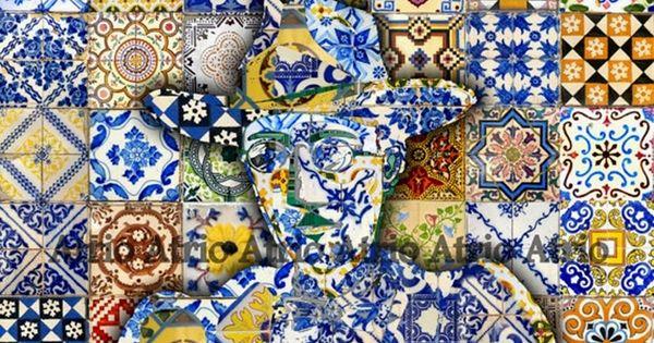 Tutti pazzi per gli azulejos io di sicuro le for Autoadesivi per piastrelle