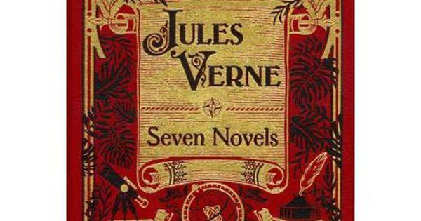 Jules Verne Seven Novels Collecting Five Weeks In A