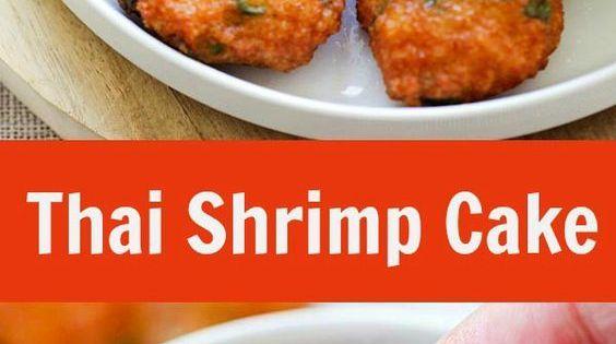 Thai Shrimp Cakes With Sweet Chili Sauce Recipe — Dishmaps