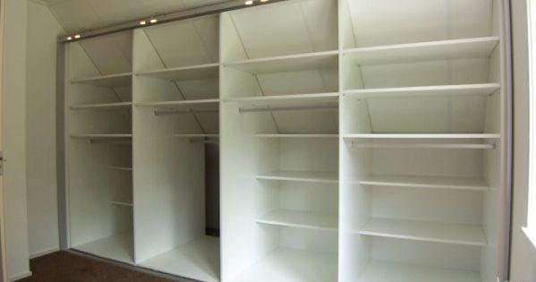 Idee voor dressingkast schuine wand slaapkamer - interieur ideeu00ebn ...