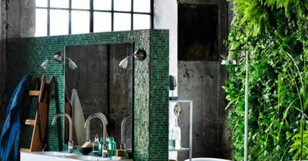 Found online 30 great industrial bathroom designs - Decoracion industrial online ...